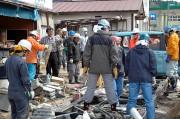 東日本大震災支援活動-気仙沼唐桑半島-2