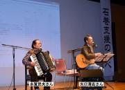 糸賀民夫さん(左)と矢口清志さん(右)